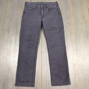 Levi Strauss & Co. 514 Blue Grey Wash Denim Jeans